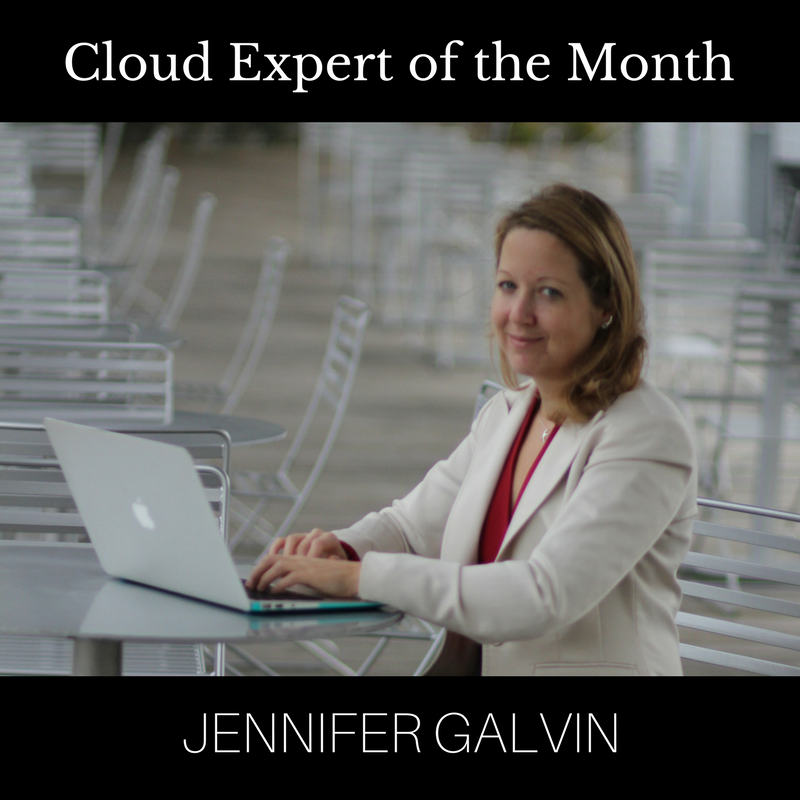 Meet Jennifer Galvin: Cloud Expert Of The Month – March 2018