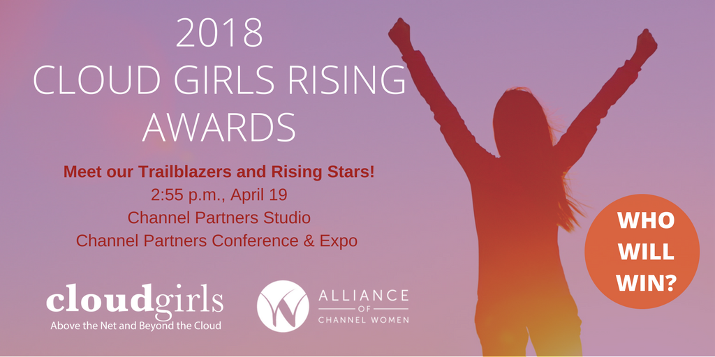 Cloud Girls Rising Awards Winners To Be Announced April 19 At Channel Partners Conference & Expo