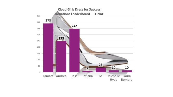 The Final Dress for Success Drive Results Are In!