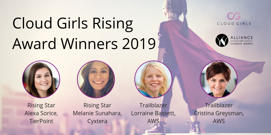 Cloud Girls Rising Awards Honor 4 Female Tech Leaders & Cloud Evangelists