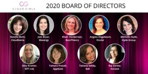 2020 Cloud Girls Board of Directors